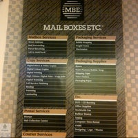 Photo taken at Mail Boxes Etc. by deevirtue on 8/21/2014