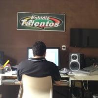 Photo taken at Estúdio Talentos by Rodrigo N. on 6/11/2013