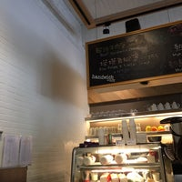 Photo taken at handwich + CAFE 漢明治 by Mike C. on 9/29/2014
