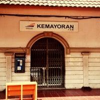 Photo taken at Stasiun Kemayoran by murphy on 12/5/2013