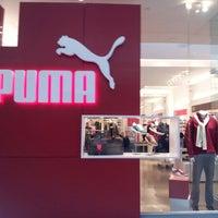 Photo taken at PUMA Store by Shelon H. on 1/1/2013