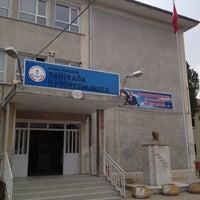 Photo taken at Tahiraga İlkogretim Okulu by Tolga E. on 9/27/2012