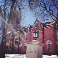 Photo taken at Smith College by Jun S. on 2/18/2013