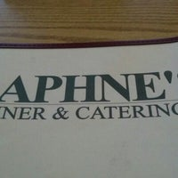Photo taken at Daphne's Diner by Cathy S. on 1/25/2013