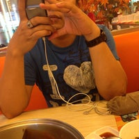 Photo taken at Shabu Slim by dessy p. on 12/21/2014