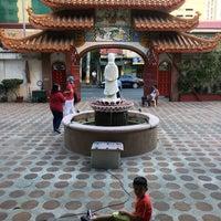 Photo taken at Kim Luan Temple 金鑾御苑 by Zach C. on 2/16/2018