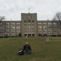 Photo taken at St. John's University - Student Life by Özgür Ç. on 3/13/2016