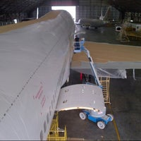 Photo taken at Hangar 75 AIROD by Muhammad A. on 12/21/2013