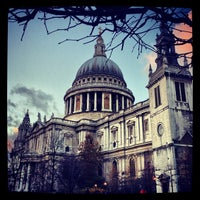 Photo taken at St Paul's Churchyard by Ghida A. on 12/10/2012