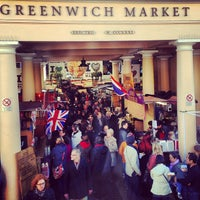 Photo taken at Greenwich Market by Ghida A. on 3/3/2013