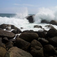 Photo taken at Jungle Beach by Sergey R. on 4/29/2013