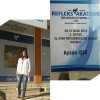 Photo taken at Refleks Akademi reflexoloji Merkezi by 💙Aysun I. on 1/9/2016