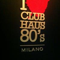 Foto scattata a Club Haus 80's da Ursula B. il 9/28/2013