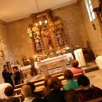Photo taken at Iglesia San Miguel by Ruben P. on 7/27/2013