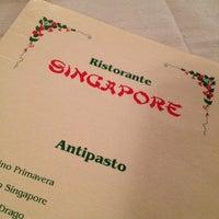 Photo taken at Ristorante Singapore by Michela R. on 1/12/2013