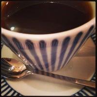 Photo taken at cafe USAGIYA by КUMIKO T. on 9/28/2013