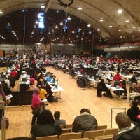 Photo taken at DC Armory by Delores R. on 2/18/2013