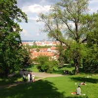 Photo taken at Petřín Gardens by Sar G. on 5/8/2013