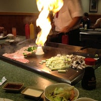 Photo taken at Kyoto Japanese Steakhouse by Kristen G. on 12/7/2012