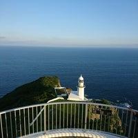 Photo taken at Chikiu-misaki Lighthouse by YUKI ★. on 8/20/2017
