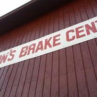 Photo taken at Ron's Brake Center by Tre L. on 3/14/2013