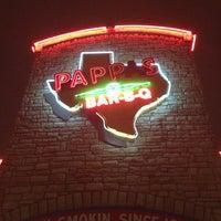 Photo taken at Pappas Bar-B-Q by J . on 1/5/2013