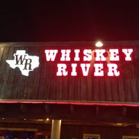 Photo taken at Whiskey River Dancehall & Saloon by J . on 3/15/2013