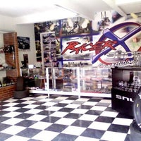 Photo taken at racer x shop by Gilberto A. on 3/29/2013