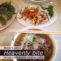 Photo taken at Xe Lua Vietnamese Cuisine 火車頭 by Tet B. on 5/10/2013