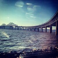 Photo taken at Tappan Zee Bridge by karen r. on 4/4/2013