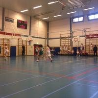 Photo taken at International School of Amsterdam by Eugene B. on 1/18/2014