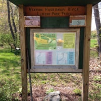 Photo taken at vernon hockanum river linear park trail by Alice B. on 5/11/2014