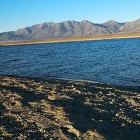 Photo taken at Crowley Lake by Sabrina K. on 10/20/2013