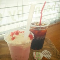 Photo taken at サザコーヒー 水戸駅店 by Wakato H. on 8/6/2016