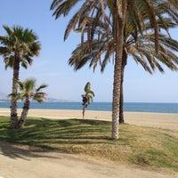Foto tomada en Playa de La Farola por Franky N. el 3/21/2014