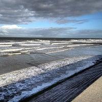 Photo taken at Strand Middelkerke by Franky N. on 11/15/2013