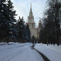 Photo taken at Юридический факультет МГУ by S T. on 3/13/2013