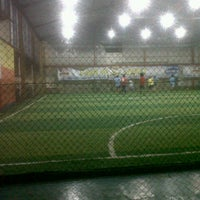 Photo taken at Planet Futsal Yogyakarta by Norman S. on 1/23/2013