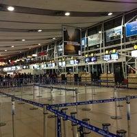 Photo taken at Comodoro Arturo Merino Benitez International Airport (SCL) by Ignacio G. on 7/8/2013