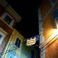 Photo taken at Trattoria Marchegiana by federica b. on 10/11/2015