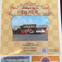 Photo taken at Longway's Diner by Dan &. on 1/14/2013
