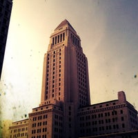Photo taken at Los Angeles City Hall by Chris H. on 12/9/2012