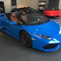 Photo taken at Lamborghini Warszawa by Sergei N. on 6/14/2016