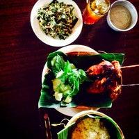 """Photo taken at Warung Lesehan Ayam Bakar """"Lientang"""" by Amrullah H. on 2/10/2014"""