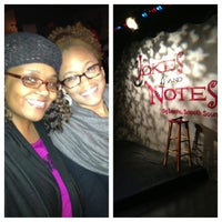 Photo taken at Jokes And Notes Comedy Club by Curvatude on 4/19/2013