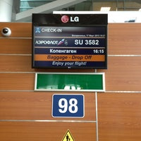 Photo taken at Check-in Area (D) by Vadim Z. on 3/17/2013