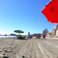 Photo taken at Playa del Tabal_La Manga by Pedro M. on 4/20/2014