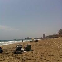 Photo taken at Playa del Tabal_La Manga by Pedro M. on 6/7/2014