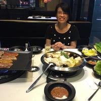 Photo taken at 韩国八色烤肉 by David H. on 7/22/2016