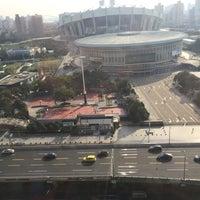 Photo taken at 上海耐克篮球公园 by David H. on 2/25/2016